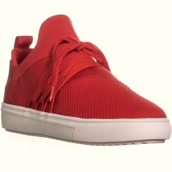 Steve Madden Shoes | Red Lancer Sneaker